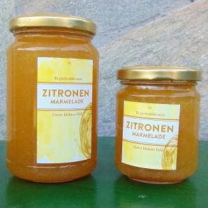 Zitronenmarmelade